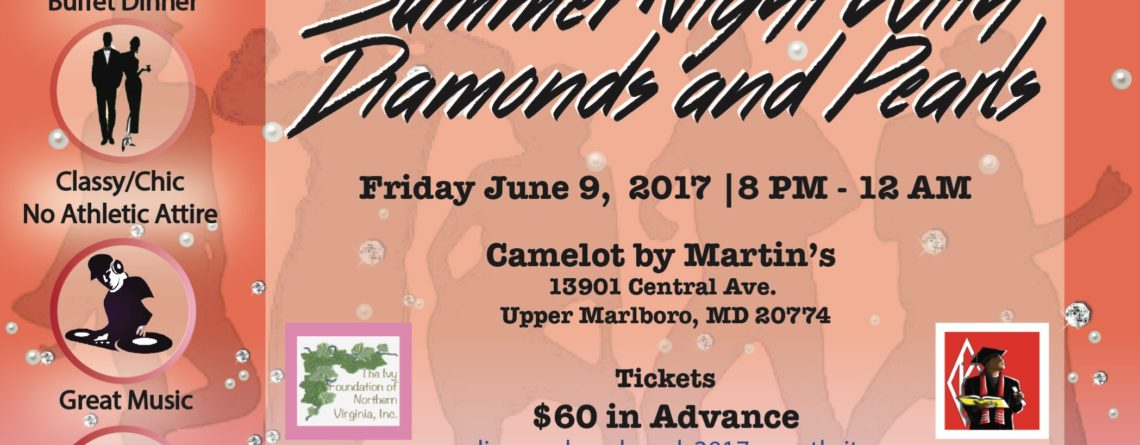 Friday, June 9, 2017 – Summer Night with Diamonds and Pearls