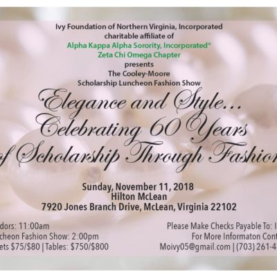 Cooley-Moore Luncheon Fashion Save the Date