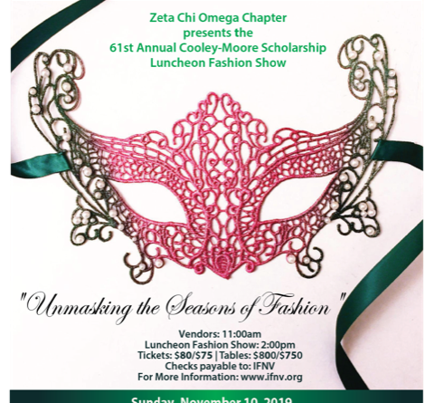 The 2019 Cooley-Moore Scholarship Luncheon Fashion Show